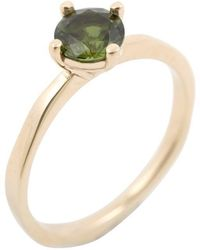 Corinne Hamak 9kt Yellow Gold Queen Ring - Metallic