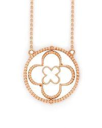 Mara Hotung 18kt Rose Gold Faith Pendant - Metallic