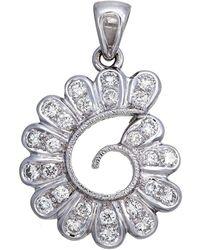 Aara Designer Jewelry | String Of Petals Diamond Pendant | Lyst
