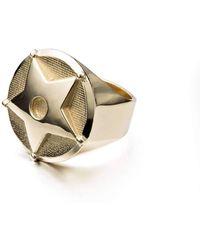 Gab McNeil - Wild Wild West Medium Ring Brass - Lyst