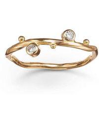 Bergsoe - 2-diamond Seafire Ring - Lyst