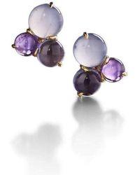 Daria de Koning - Dagny Cluster Stud Earring - Lyst