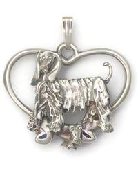 Donna Pizarro Designs Sterling Silver Panda Bear Necklace MjMp1