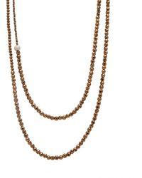 Faystone Sun Necklace - Metallic
