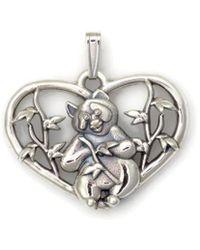 Donna Pizarro Designs - Sterling Silver Panda Bear Necklace - Lyst