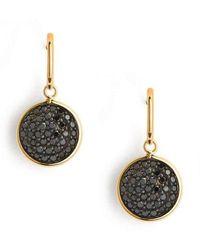 Syna 18kt Black Diamond Pave Chakra Earrings vZ8ZY7n
