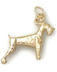 Donna Pizarro Designs 14kt Yellow Gold Australian Shepherd Charm Alternative kJgTv1dkXN