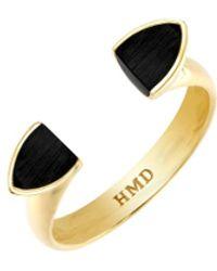 Helana Mckenzie Jewellery Designs Lina Black Resin Ring