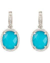 LÁTELITA London Zodiac Lapis Lazuli Pendant Necklace Gold Scorpio - Blue