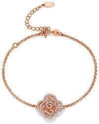 Fei Liu - Cascade Bracelet In 18kt Rose Gold - Lyst