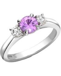 Robert Bicknell Fine Jewellery The Purple Sapphire Chicago R