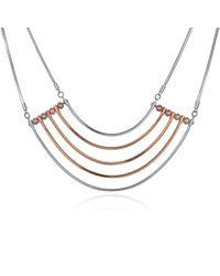 Cara Tonkin - Orbit Rose Gold Cosmos Necklace - Lyst
