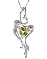 Affianced Jewellery - Organic Heart Necklace - Lyst