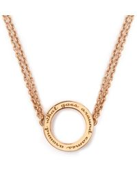Ongkara - What Goes Around Comes Around Necklace - Lyst