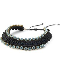 BuDhaGirl - Smn Crystal Bib Necklace | - Lyst