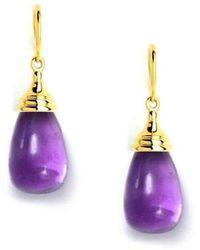 Syna 18kt Amethyst Drop Earrings xqyA565n