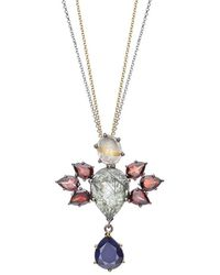 Nicofilimon | Stone Wings Necklace | Lyst