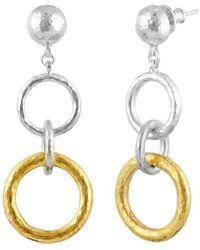 Gurhan - Double Hoopla Drop Earrings - Lyst