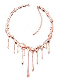 Lucy Quartermaine Multi Drop Bracelet Rose Gold Plated P84w5kweJl