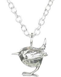 Lucy Flint Jewellery Wren Necklace - Metallic