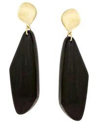 Sandy Leong - Ziya Geometric Horn Earrings - Lyst
