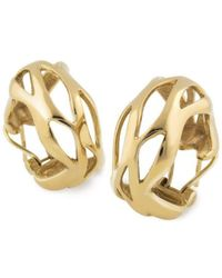 Chavin Couture - 18kt Yellow Gold Earring - Lyst