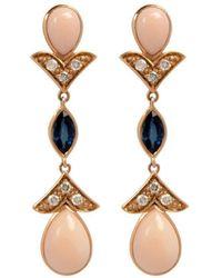 Joana Salazar The Petite Vintage Earrings - Multicolour