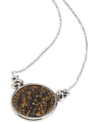 Rina Limor - Sunrise Coin Silver Pendant Necklace - Lyst