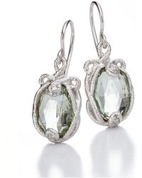 Brigitte Adolph Jewellery Design - Undinchen White Gold Earrings - Lyst