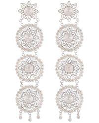 Vanilo - Amaya Earrings Silver - Lyst