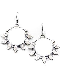 Meltdown Studio Jewelry - Lacepod Hoop Earrings - Lyst