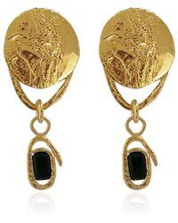 Carou 18kt Yellow Gold Vermeil Sea Of Marmara Earrings - Metallic