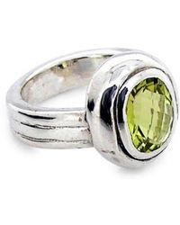 Will Bishop - Sterling Silver Lemon Quartz Ring - Lyst