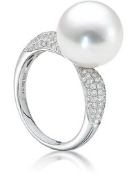 BELPEARL - A Pearl Legacy - Avenue Slim Ring - Lyst