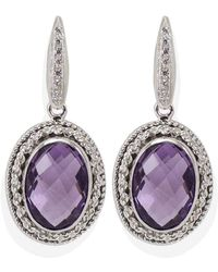 Vintouch Italy - Provence Amethyst Cordella Earrings - Lyst