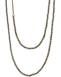 Faystone - Pollux Necklace - Lyst