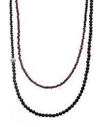 Faystone Venus Necklace - Black
