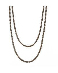 Faystone Jupiter Necklace - Brown