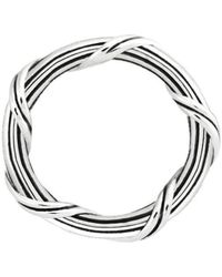 Peter Thomas Roth Fine Jewelry - Signature Classic Band Ring Sterling Silver - Lyst