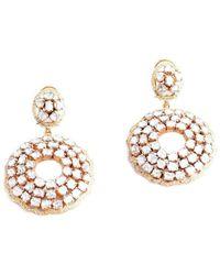 M's Gems by Mamta Valrani - Celestial Chandelier Earrings With Diamonds - Lyst