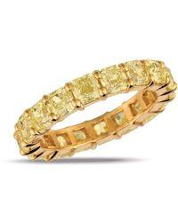 Gemlok for Gemveto - Full Radiant Yellow Diamond Ring - Lyst