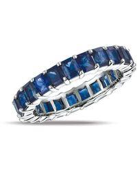 Gemlok for Gemveto - Full Radiant Sapphire Ring - Lyst