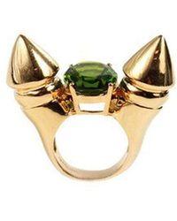 Qiyada Jewelry - Spike Cocktail Ring - Lyst