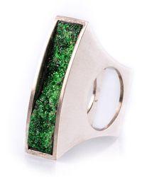 Susanne Siegert - Moss Garden Ring - Lyst