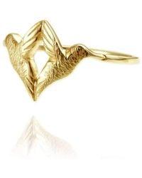 Jana Reinhardt Jewellery - Golden Twin Hummingbird Ring - Lyst