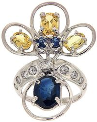 Botta Gioielli - Peacock Ring - Lyst