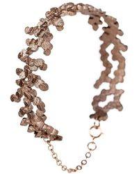 Lumitoro - Tubii Bracelet Bronze Infusion Stainless Steel - Lyst