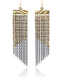 K.Mita - Shoreline Fringe Earrings - Lyst