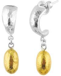 Gurhan - Cocoon Hoop Earrings - Lyst