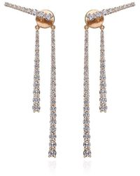 Ortaea Fine Jewellery 18kt Rose Gold Mode Earrings Vii - Metallic